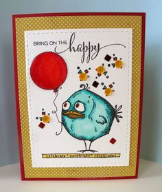 Tim Holtz: Bird Crazy stamps
