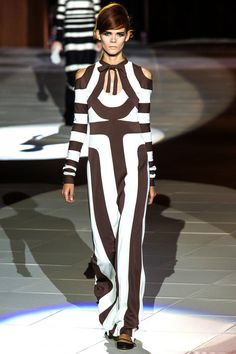 graphic chocolate & white form marc jacobs spring 2013 rtw