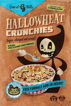 Hallowheat Crunchies by Steam Crow