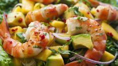 Prawns, Mango and Avocado Salad