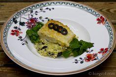 Kartoffel-Oliven-Püree mit Kabeljau-Filet ♥ Mediterranean mashed potatoes with olives and fish fillet