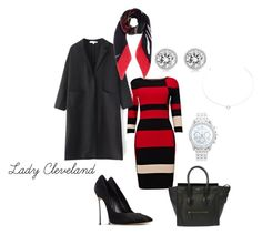 """""""Lady Cleveland"""" by yuvette on Polyvore featuring Phase Eight, Casadei, CÉLINE, Lane Bryant, Michael Kors, Dolce&Gabbana and Agnes de Verneuil"""