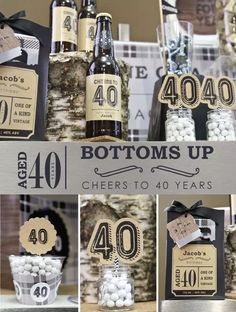 Trendy Birthday Celebration Ideas For Men Guys Ideas Adult Birthday Party, 40th Birthday Parties, Dad Birthday, Birthday Party Decorations, Birthday Celebration, 40th Party Ideas, 40th Bday Ideas, Big Dot Of Happiness, Man Party
