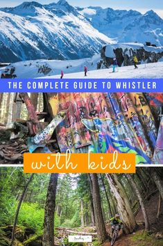 Complete Guide of the Top 35 Things to Do in Whistler with Kids The resort village of Whistler, Canada, is the perfect family holiday destination. A complete guide to the top 35 things to do in Whistler with kids all year round. Family Holiday Destinations, Canada Destinations, Family Vacations, Winter Vacations, Family Trips, Whistler, Alberta Canada, Travel Advice, Travel Guides