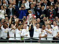 2016 FA Cup winners - Man Utd.