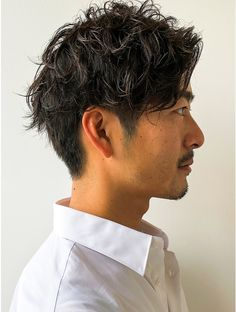 Permed Hairstyles, Quick Hairstyles, Curly Hair Men, Curly Hair Styles, Korean Men Hairstyle, Men's Hairstyle, Hair Barber, Classy Men, Grunge Hair