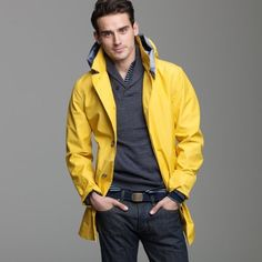 Classic men's raincoat - ILSE JACOBSEN | MEN'S FASHION ...