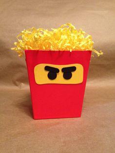 Lego Ninjago Favor Bucket