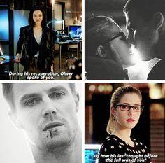 'Oliver last thought was about you' - Tatsu (Katana) and Felicity Arrow Arrow Cw, Arrow Oliver, Team Arrow, Arrow Quote, The Cw Shows, Dc Tv Shows, Oliver And Felicity, Felicity Smoak, Fandoms Unite
