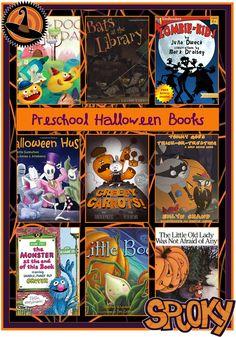 Preschool Halloween Books for Kids