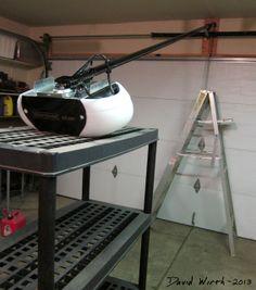 Install new garage door opener