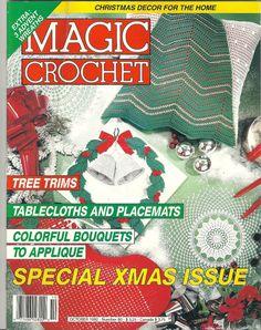 80Magic Crochet Magazine October 1992