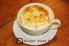 Asperge-soufflé - Geur van Maillard - www.maillard.nl