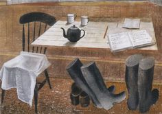 'Observer Corps Hut' by Eric Ravilious, 1939