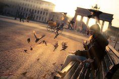 #BrandeburgerTor #Berlin #Sonnenuntergang