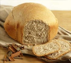 Chleb cynamonowy z automatu - smakowity chleb.pl Food And Drink, Bread, Brot, Baking, Breads, Buns