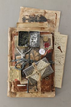 """Carnet of curiosities"" by Jérôme Cavailles french Artist"