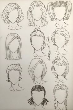 Female Hairstyles Dr Kappil Kishor In 2019 Hair Sketch Croquis - hairstyles drawing fashion messy hairstyles drawing wavy hairstyles drawing fringe hairstyles drawing tomboy hairstyles drawing pigtail hairstyles drawing Fashion Drawing Tutorial, Fashion Figure Drawing, Drawing Hair Tutorial, Drawing Fashion, Drawing Tutorials, Fringe Hairstyles, Female Hairstyles, Tomboy Hairstyles, Pigtail Hairstyles