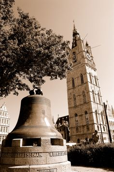 Belfry and famous bell Rowland.