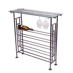 Mission Style Wine Console