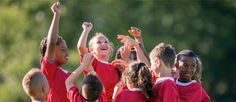 When is the Right Time to Introduce Children to Team Sports? Team sports can be great for children of all ages. Not only do team sports teach physical skills but they can also introduce your child to teamwork, sportsmanship, time management, healthy competition and more. But, how do you know when the right time is? Here are some guidelines to consider when making the decision.    #Parenting #KidsSports
