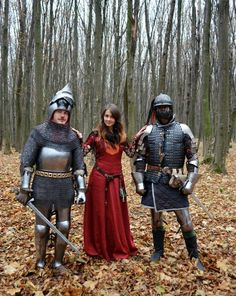 """Mittelalter Kleid """"Pretty Amaryllis"""", weinrotes Leinen"""