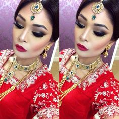 A tradition Asian bridal look