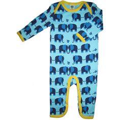 Elephant Friends Cottonsuit