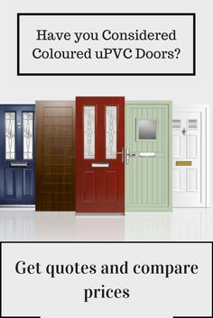 See the latest designs and compare quotes from local and national front door installers today! #doors
