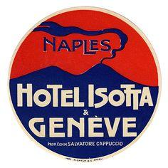 Napoli - Hotel Isotta & Geneve