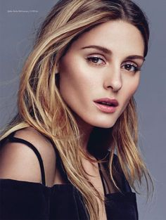 Olivia Palermo gets her closeup with tousled tresses for ELLE Denmark Magazine September 2016