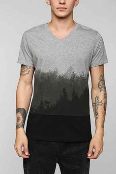 Tee Library Ombre Forest Tee