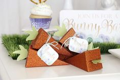 What cute party favor boxes at this adorable Kids Easter Party! See more party ideas and share yours at CatchMyParty.com