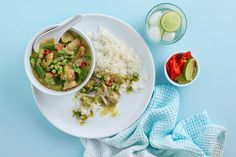This Green Chicken Curry Recipe is filled with fragrant aromas and the perfect amount of spice! It's quick to make and sure to please you and your guests :) Ingredients (makes 4 serves):1 tbsp coconut oil500g chicken thigh fillets, trimmed and cut into 3cm piecesGreen curry paste (recipe below)400ml can light coconut milk125ml salt-reduced vegetable stock2 kaffir lime leaves, torn150g green beans, trimmed and halved1 medium red capsicum, deseeded and sliced100g frozen peas1 tbsp coconut…