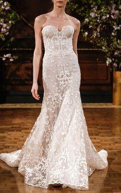 Isabelle Armstrong Bridal Look 4 on Moda Operandi