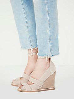 6a59336ba5cb Jeffrey Campbell Dakota Wedge at Free People Clothing Boutique