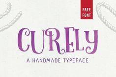 A beautiful curly typeface, completely FREE of charge.