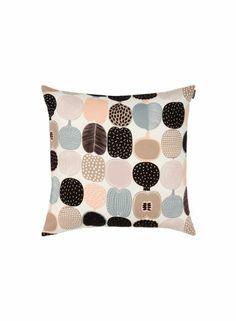 Kompotti-tyynynpäällinen (valkoinen, beige, harmaa) |Sisustustuotteet, Olohuone, Sisustustyynyt ja tyynynpäälliset | Marimekko