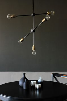 Lighting as art is a very current way of thinking and we think it is a wonderful idea Lighting shouldn t only be usable it should be beautiful and