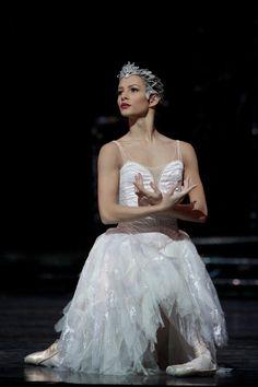 Ballerina Francesca Hayward - in Swan in Swan Lake - Royal Ballet Art Ballet, Ballet Dancers, Ballerinas, Ballet Costumes, Dance Costumes, Baby Costumes, Swan Lake Costumes, Francesca Hayward, Swan Lake Ballet