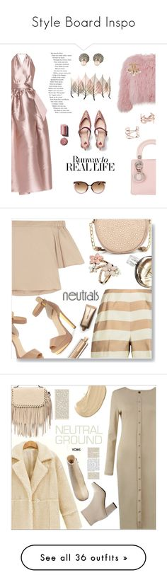 """""""Style Board Inspo"""" by stylesbychantald ❤ liked on Polyvore featuring Gucci, Alexis Mabille, Charlotte Simone, Christian Dior, Artistica, Dorothy Perkins, Yves Saint Laurent, Chanel, TIBI and Neiman Marcus"""