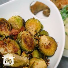 Oma's easy Roasted Brussels Sprouts  -- so good!  http://www.quick-german-recipes.com/brussels-sprouts-recipe.html