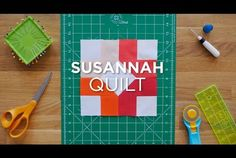 Susannah Quilt Block - Quilt Snips Mini Tutorial