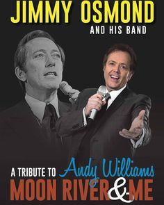 """The Andy Williams Performing Arts Center in Branson, Missouri, announces """"Moon River and Me Starring Jimmy Osmond,"""" which returns for a limited run in April and May 2016 before the show tours the U.K. September - October. More tour dates will be announced soon. For tickets at the Andy Williams Performing Arts Center, call 800-MOON-094 or visit:  http://www.andywilliamspac.com/moon-river-and-me.html. For information on the U.K. tour dates for """"Moon River and Me Starring Jimmy Osmond,"""" visit…"""