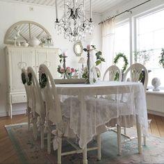 Shabby and Charme: Gustavian chic a casa di Susanne