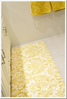 Yellow Rug On Pinterest
