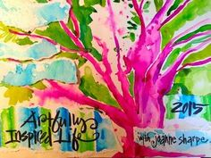 Artfully Inspired Life 2015 with Joanna Sharpe - Class