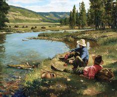 fishing in Yellowstone #FlyFishing