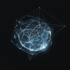 Moon 83 - TRON: Legacy / Tribute by Vladislav Solovjov Tron Legacy, Space And Astronomy, Nocturne, Geometric Art, Motion Design, Sacred Geometry, Geometry Shape, Plexus Products, Overlays