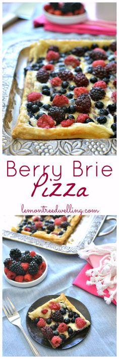 Berry Brie Pizza | Lemon Tree Dwelling